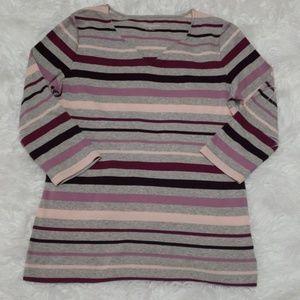 Croft and Barrow 3/4 sleeve shirt sz medium
